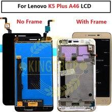 Для Lenovo K5 Plus A6020 A46 ЖК-дисплей с рамкой и сенсорным экраном дигитайзер для lenovo A46 LCD