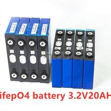 12 шт. lifepo4 3,2 В 20ah 200A высокоразрядный ток 20ah 3,2 В lifepo4 батарейный блок для электровелосипеда мотор Аккумуляторный блок diy
