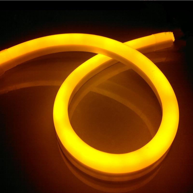Bon marché bande de lumière Flexible de néon de 5 m LED 80 LED/m imperméable pour la corde de lumière LED pour la décoration de voiture de partie de magasin