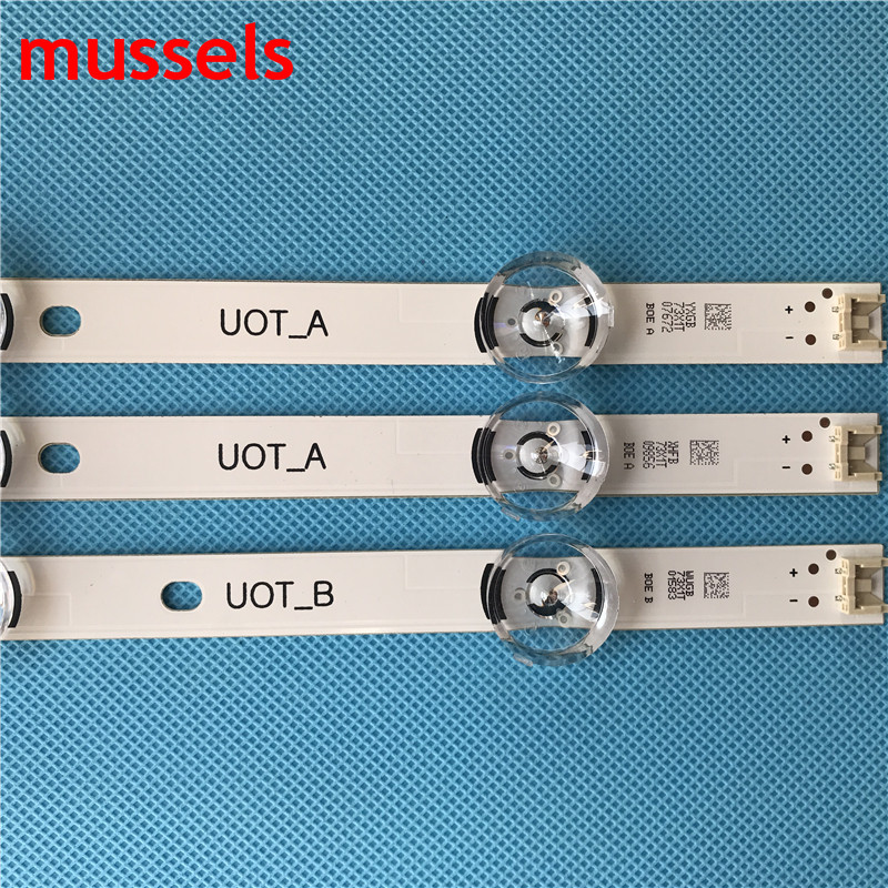 "Image 4 - LED backlight strip For LG 32"" TV 6lamp 590mm innotek drt 3.0 32""A B 6916l 1975A lv320DUE 32LF5800 LC320DUE MG FG A3 6916L 1701A-in Industrial Computer & Accessories from Computer & Office"