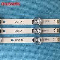 "עבור lg innotek ד LED רצועה אחורית עבור LG 32"" טלוויזיה 6lamp 590mm INNOTEK ד.ר.ת 3.0 32"" א ב 6916l-1975A lv320DUE 32LF5800 LC320DUE MG FG A3 6916L-1701A (4)"