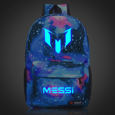 New Men Women Messi Backpack Footbal Bag Ronaldo Juventus Boys Travel Gift Kids Bagpack Mochila Bolsas Escolar School Bags