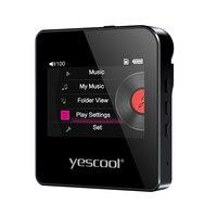 Yescool S3 Профессиональный HIFI стерео без потерь MP3 плеер мини Спорт плеер Поддержка 128 г TF карты Audiophile полный формат декодирования