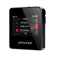 Yescool S3 Professional HIFI Stereo Lossless MP3 Player Mini Sports Player Support 128G TF Card Audiophile