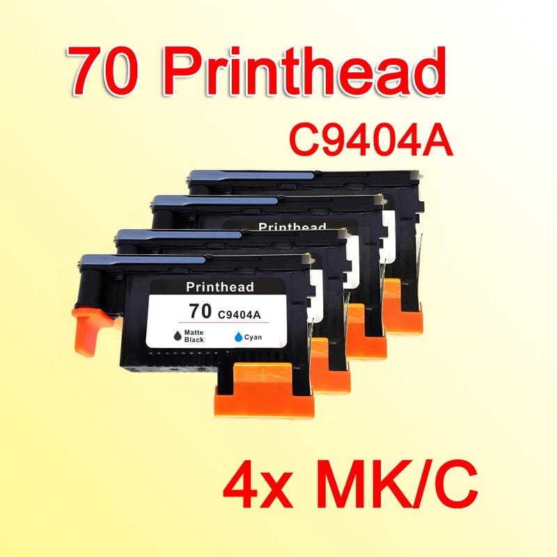 4x MK/C printhead for HP 70 Designjet Z2100 Z5200 Z3100 Z3200 Photosmart PRO B9180 printer гриль сковорода биол 1028