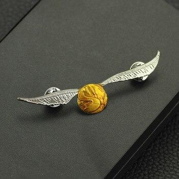 Брошка Золотой снитч Гарри Поттер 1