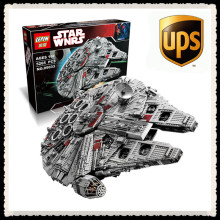 LEPIN 05033 5265Pcs Star Wars Ultimate Collector's Millennium Falcon Model Building Kit Blocks Bricks Toy Compatible 10179