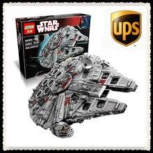 LEPIN 05033 5265 Unids Star Wars Halcón Milenario del Último Colector Modelo Kit de Construcción de Ladrillos de Juguete Bloques Compatible 10179