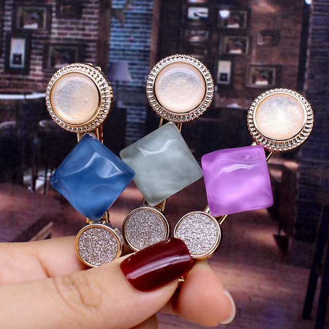 Hair Clips For Women Fashion Handmade Hair Accessories 2