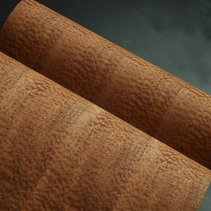Image 5 - Natural Sapeli Pomelle Veneer with  Craft Paper Backer