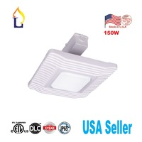 5 pack Led Gas Station Light 150W High Brightness DLC ETL Listed 5000K Outdoor Canopy Lamp for Gas Station and Stadium