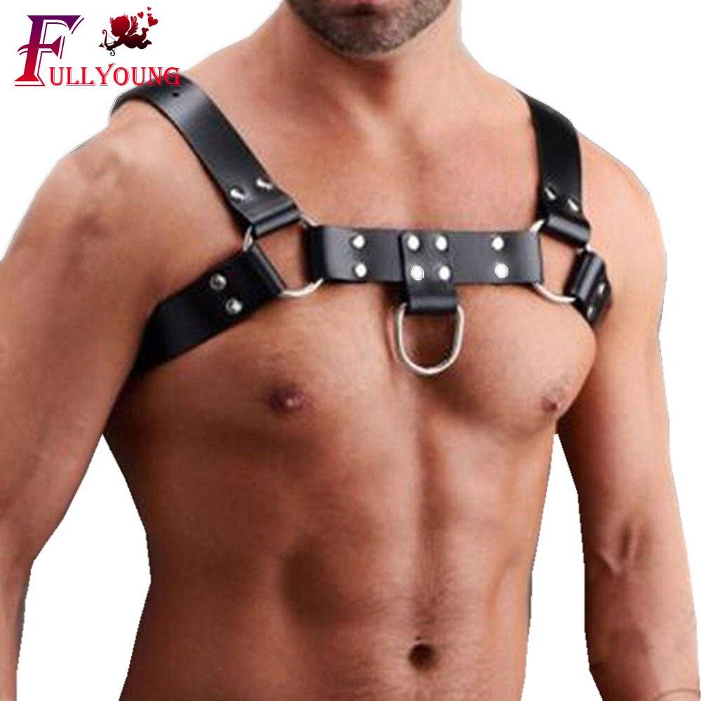 Men/'s Chest Gay Clubwear Costume Underwear Nightwear Body Straps