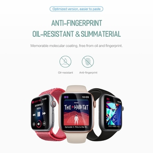 Image 2 - 2pcs For Apple Watch Screen Protector for iWatch 4 3 2 ROCK Hydrogel Full Protective Film For Apple Watch of 38mm 40mm 42mm 44mm