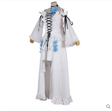 Nuevo Anime Pandora Hearts Cosplay Alice White Rabbit Halloween White - Disfraces - foto 5