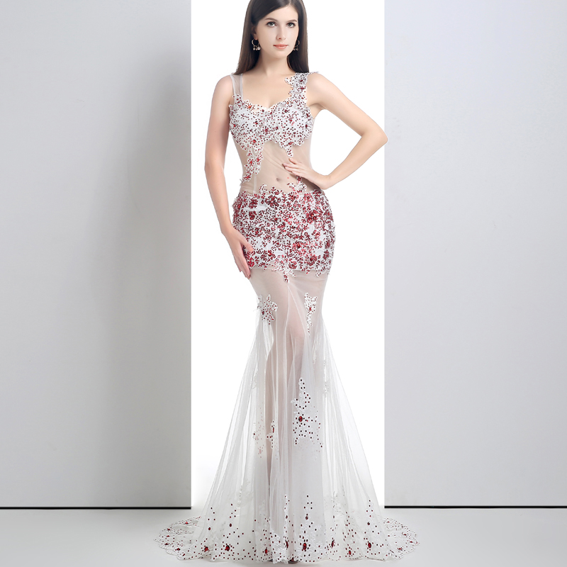 Long Two Piece Prom Dresses