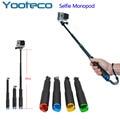 GoPro Accessories portable 50CM Handheld Extendable Monopod For Go pro Hero 4/3/2/1/3+ SJCAM SJ4000 SJ5000 Xiaomi Yi EKEN H9 H9R