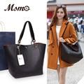 Bolsas de couro de luxo para as mulheres 2016 marcas de moda bolsa mulheres ZA couro bolsa de ombro grande sacos de capacidade bolsa