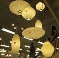 2015 Nordico Новые Подвесные Светильники Шелковая Ткань Abajur Спальня Гостиная Hanglamp Белый lampen Подвесной Светильник Светильники 110 В 220 В современные