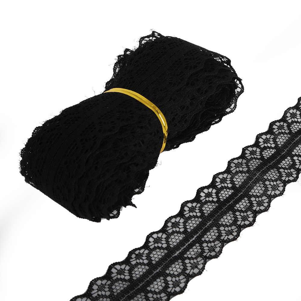 5 stoczni/dużo taśma koronkowa tapicerka 28mm koronkowa lamówka do szycia dekoracji DIY akcesoria do spódnic do szycia