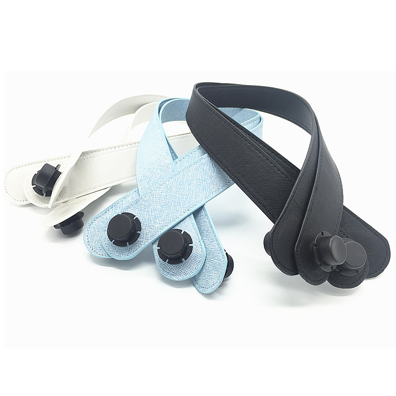 përmasa të gjata 65cm Trajtim për aksesorë të grave çanta Obag çanta lëkure supe pu merret veshët për eva obag