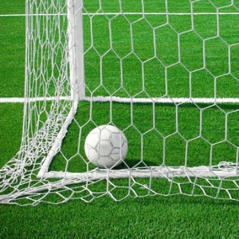 1e1e82fee New 12x6ft Full Size Football Soccer Ball Goal Post Net Voetbal Sports  Match Training Junior Polypropylene Fiber For Goalkeeper-in Soccers from  Sports ...