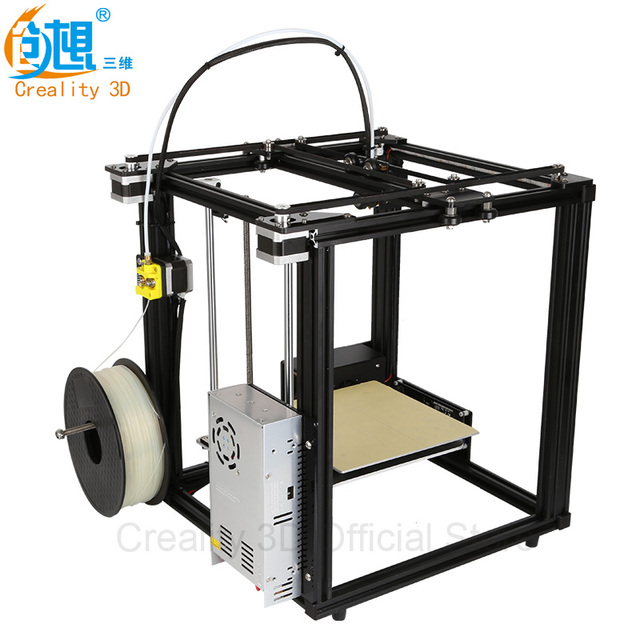 Core-XY 3D printer V-Slot Frame Creality 3D Ender-4 Auto Leveling Laser 3D Printer DIY kit Filament Monitoring Alarm Protection