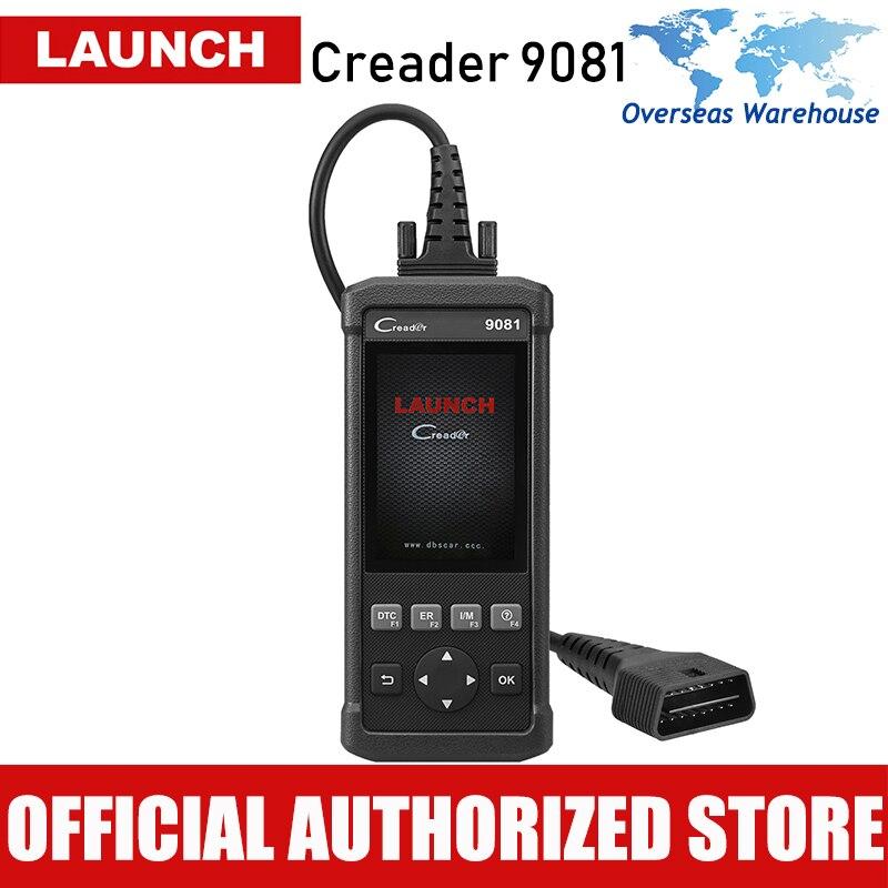 Lancio CReader 9081 Automotive Strumento di Ripristino OBD2 Scanner Lettore di Codice di Reset Auto Car Diagnostico Scaner Freno Olio di Reset
