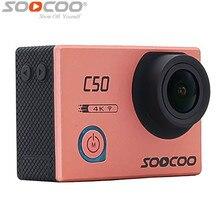 Soocoo c50 оригинальный wi-fi спорт действий камеры регулируемые углы обзора 30 м водонепроницаемый спорт dv