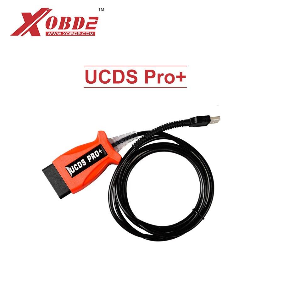 Prix pour UCDS Pro + V1.26.008 Outil De Diagnostic pour Ford UCDSpro avec 35 jetons Pleine Mode Actif Remplacer pour VCM II OBD Câble Scanner