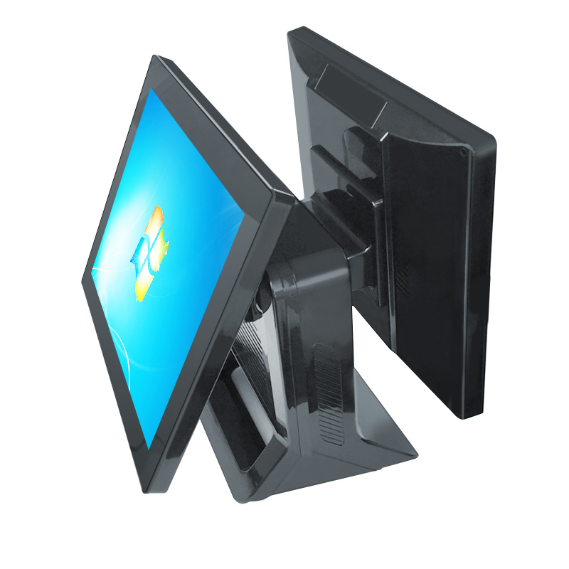 all in one pos terminal/ barebone pc 15 inch pos display with label printerall in one pos terminal/ barebone pc 15 inch pos display with label printer