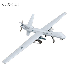 1:32 3D General Atomics MQ-9 Reaper Reconnaissance Aircraft Plane Aircraft Paper Model Assemble Hand Work  Puzzle Game DIY Toy