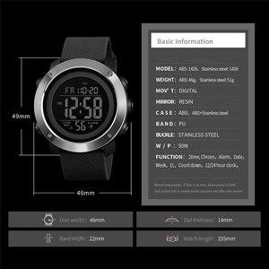 Image 4 - 시간 비밀 시계 남자 방수 야외 스포츠 학생 디지털 손목 시계 청소년 빛나는 다기능 전술 시계