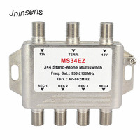 3 In 4 Aus Satelliten DiSEqC Stand Alone multi Splitter 3x4 Satelliten Schalter FTA TV LNB Schalter für Smatv DVB S2 DVB T2 lnb switch satellite switchtv lnb -