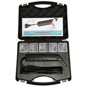 Image 1 - Kit de reparación de plástico para parachoques de coche, grapadora en caliente, soldador de carenado, soldadura profesional de plástico, herramienta de reparación de carrocería Mach