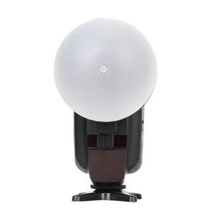 Image 5 - TRIOPO MagDome couleur filtre, réflecteur, nid dabeille, diffuseur boule Kits pour GODOX tt600 TT685 V860II YN560III/IV Flash VS AK R1