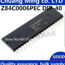 10 шт./лот Z84C0006PEC Z80 процессор DIP-40 микропроцессор чип