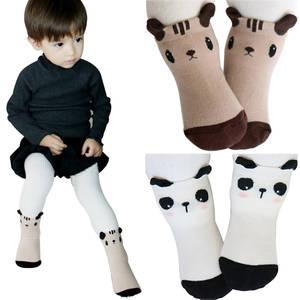 192d55b54 Hilenhug 2 Pairs Lot Socks for Newborn Infant Kids Cotton