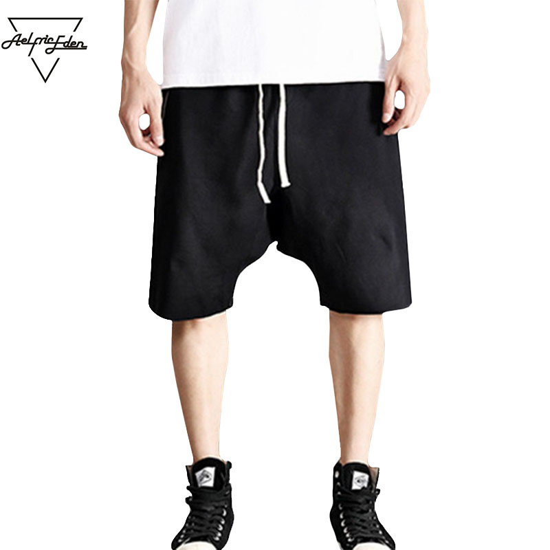 Aelfric Eden Summer Fashion Men Board harem Shorts Hip Hop Kanye West Justin Bieber GD Short