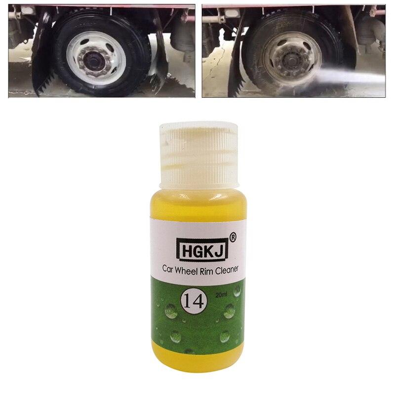 20 мл автостайлинг, чистящее средство для удаления ржавчины в шинах, чистящее средство для мытья автомобиля, аксессуары для автомобиля TSLM1