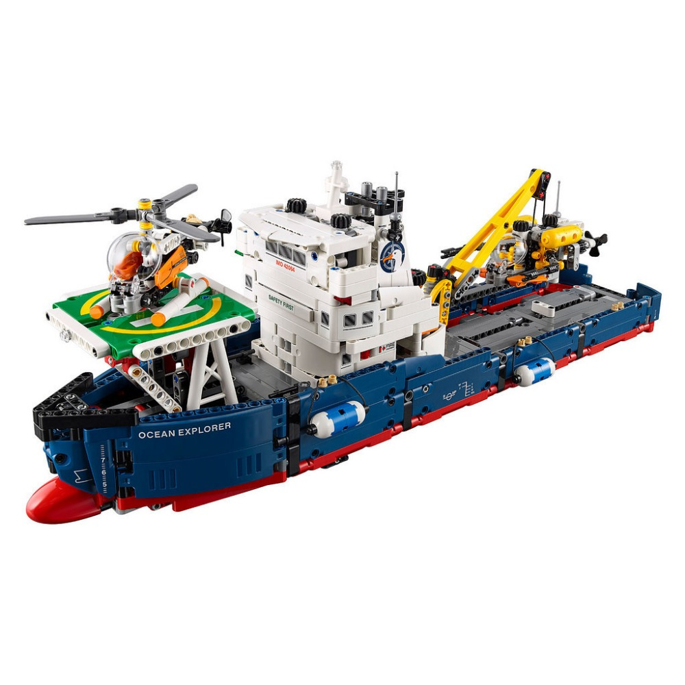 New Lepin 20034 1347pcs Technic Series Search the ship Building Blocks Bricks Educational Toys гири екатеринбург