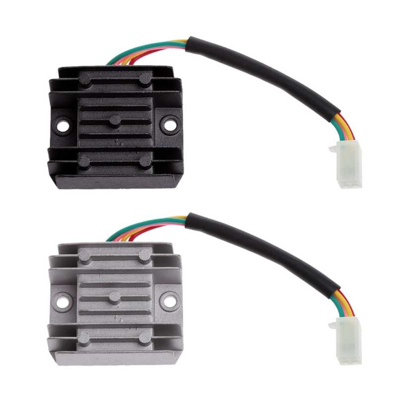 4 Wires 12V Voltage Regulator Rectifier for Motorcycle Boat ... on