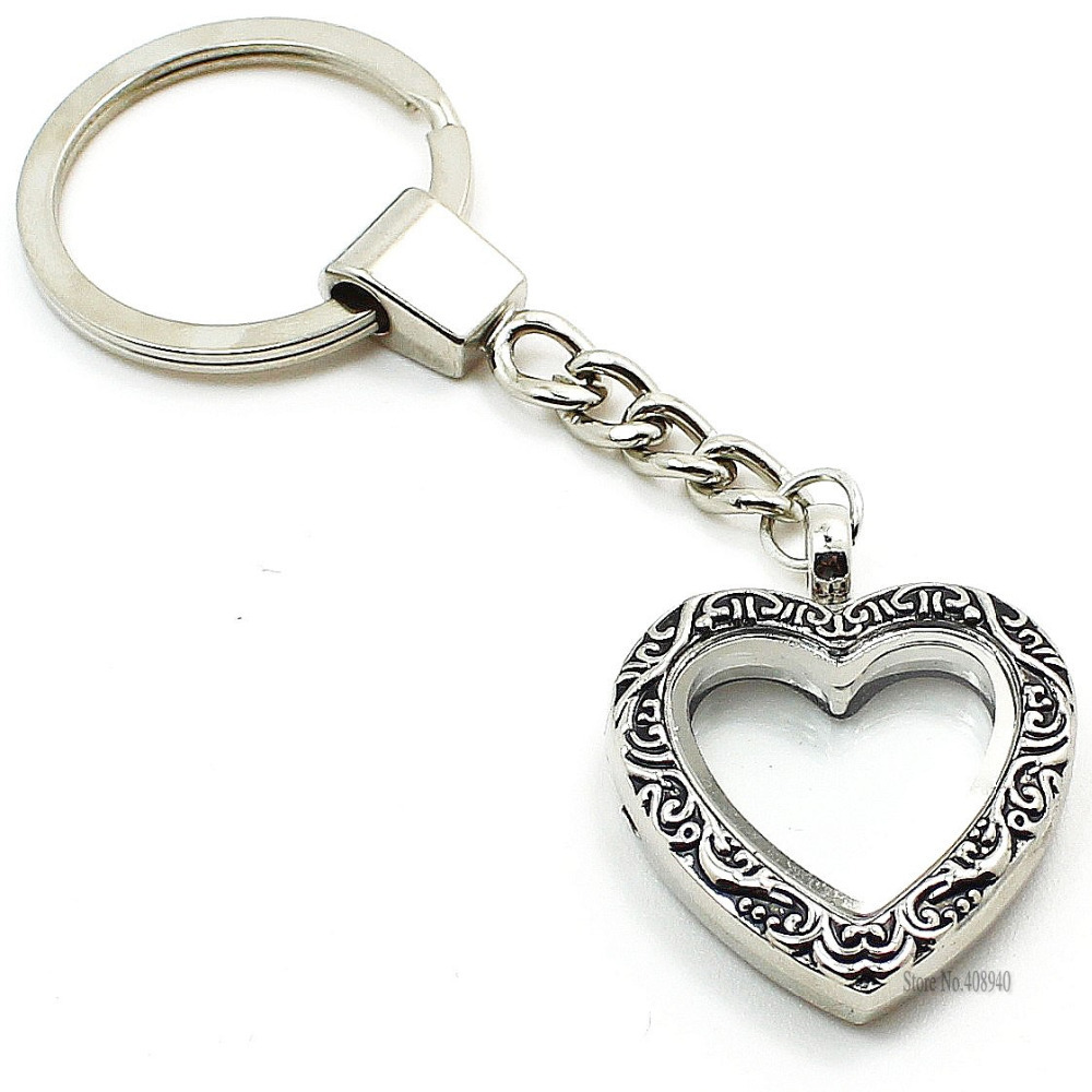 photo locket keychain engravable oval engraved lockets