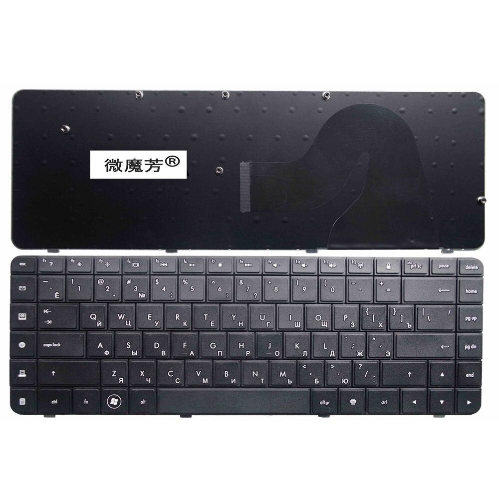 RU Black New keyboard FOR HP Compaq G56 G62 CQ62 CQ56 CQ56-100 Laptop Keyboard Russian