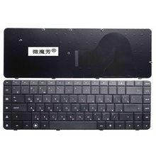RU Black New keyboard FOR HP Compaq G56 G62 CQ62 CQ56 CQ56-100 Laptop