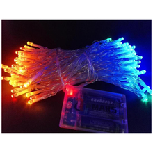 10M/33 Feet LED String Lights Battery Powered LED Fairy Lights for Wedding, Garden, Party, Home, Bedroom Decoration