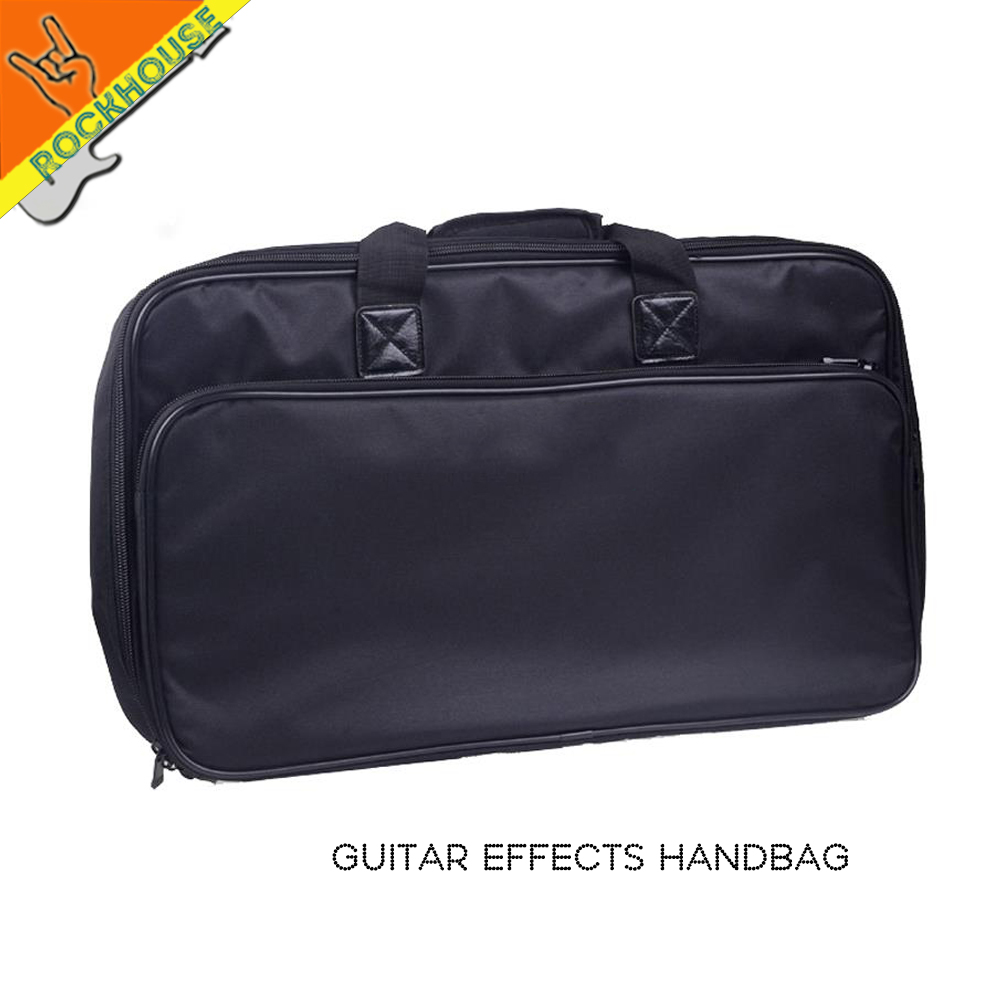 Guitar effects bag handbag Stompbox case pedal board huge space thickening Super durable contain with 10 guitar effects pedals