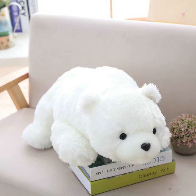 60 90cm Large Size Newborn Baby Pillow Polar Bear Stuffed Plush