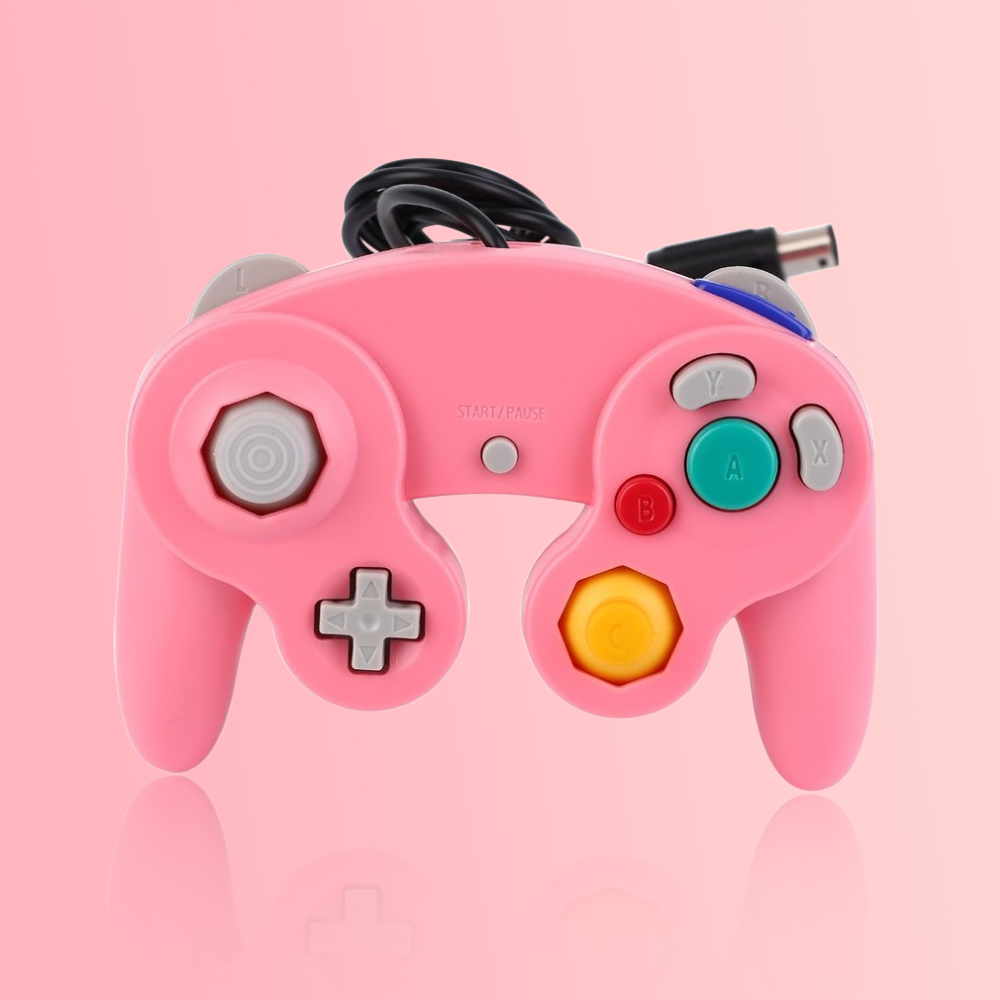 Gamepads Game Controller Pad Joystick for Nintendo GameCube or for Wii,controle game cube,gamecube,wii controller light shooting game gun for nintendo wii controller