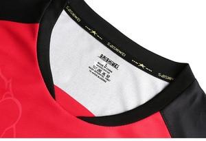 Image 4 - أطقم جديدة لطاولة تنس الطاولة من الصين للرجال/النساء ، ملابس بينغ بونغ ، قمصان تنس الطاولة ، قمصان تنس الطاولة + سراويل رياضية