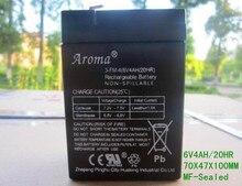 D'acheter des enfants de jouet accessoires de voiture 6 v 4ah acide de plomb scellée batterie rechargeable batterie de stockage 6 v 4ah livraison gratuite